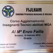 M° Enzo Failla - Corso Aggiornamento 2014 e Stage MGA - Bolzano (7)