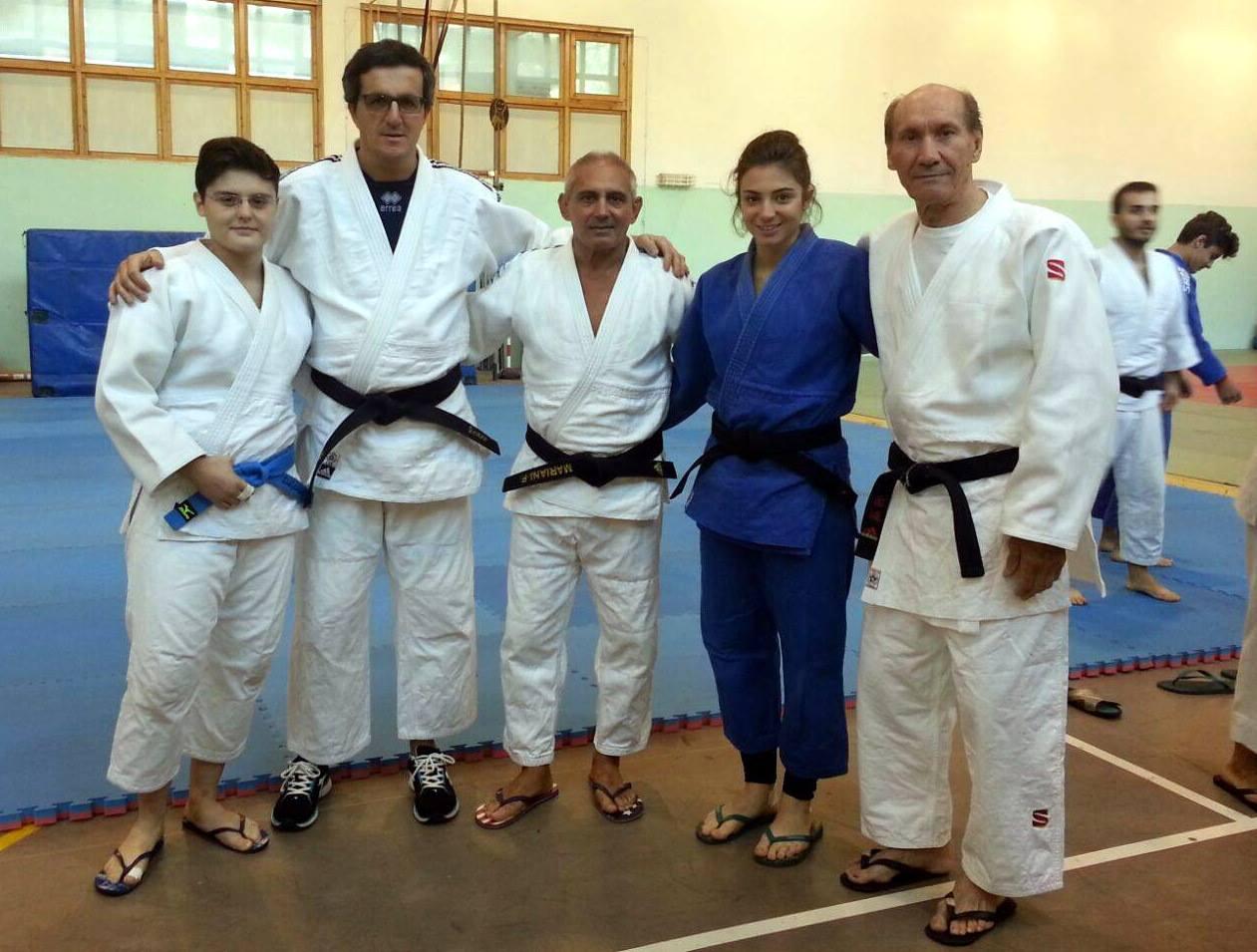 Stage di Judo agonistico con il Docente Federale M° Felice Mariani - 24 25.10.2015 - Borgo Valsugana