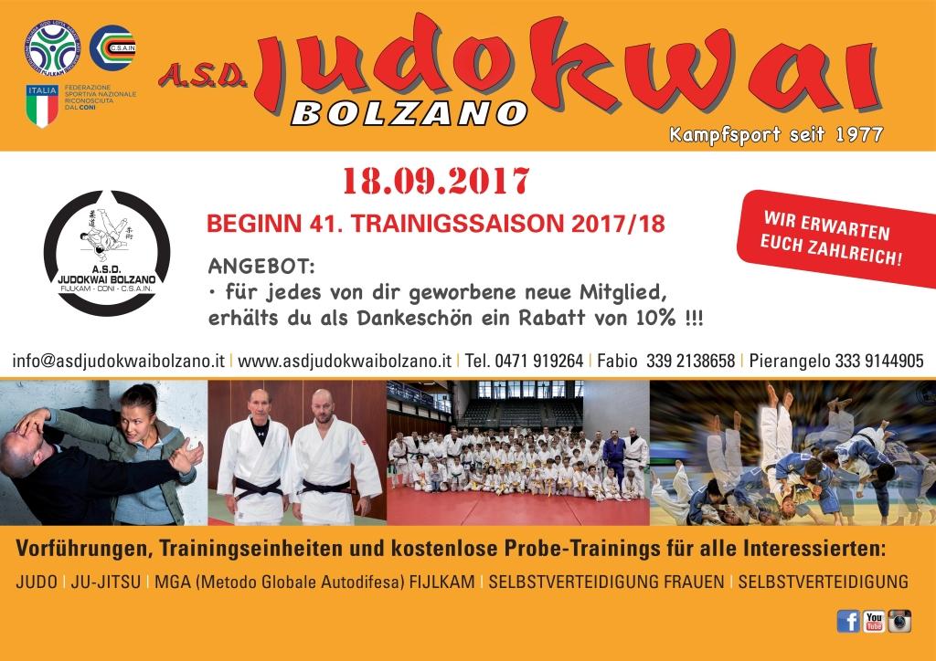 A.S.D. Judokwai Bolzano 2017_2018 T