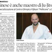 L'Istruttore, Fiduciario Ju-Jitsu Comitato FIJLKAM Bolzano e Vice Presidente A.S.D. Judokwai Bolzano Fabio Dainese diventa anche Maestro di Ju-Jitsu FIJLKAM