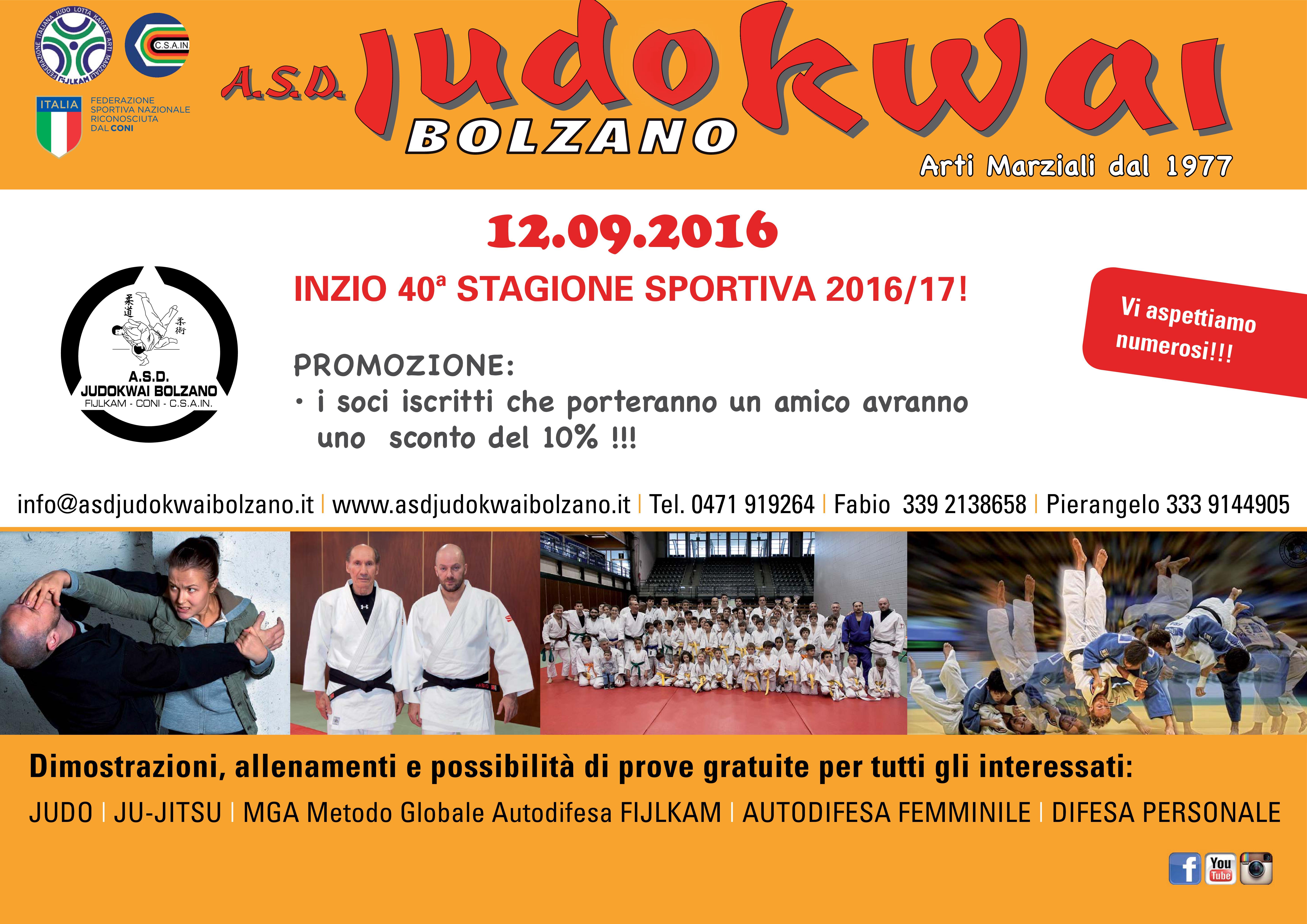 A.S.D. Judokwai Bolzano 2016_2017 I