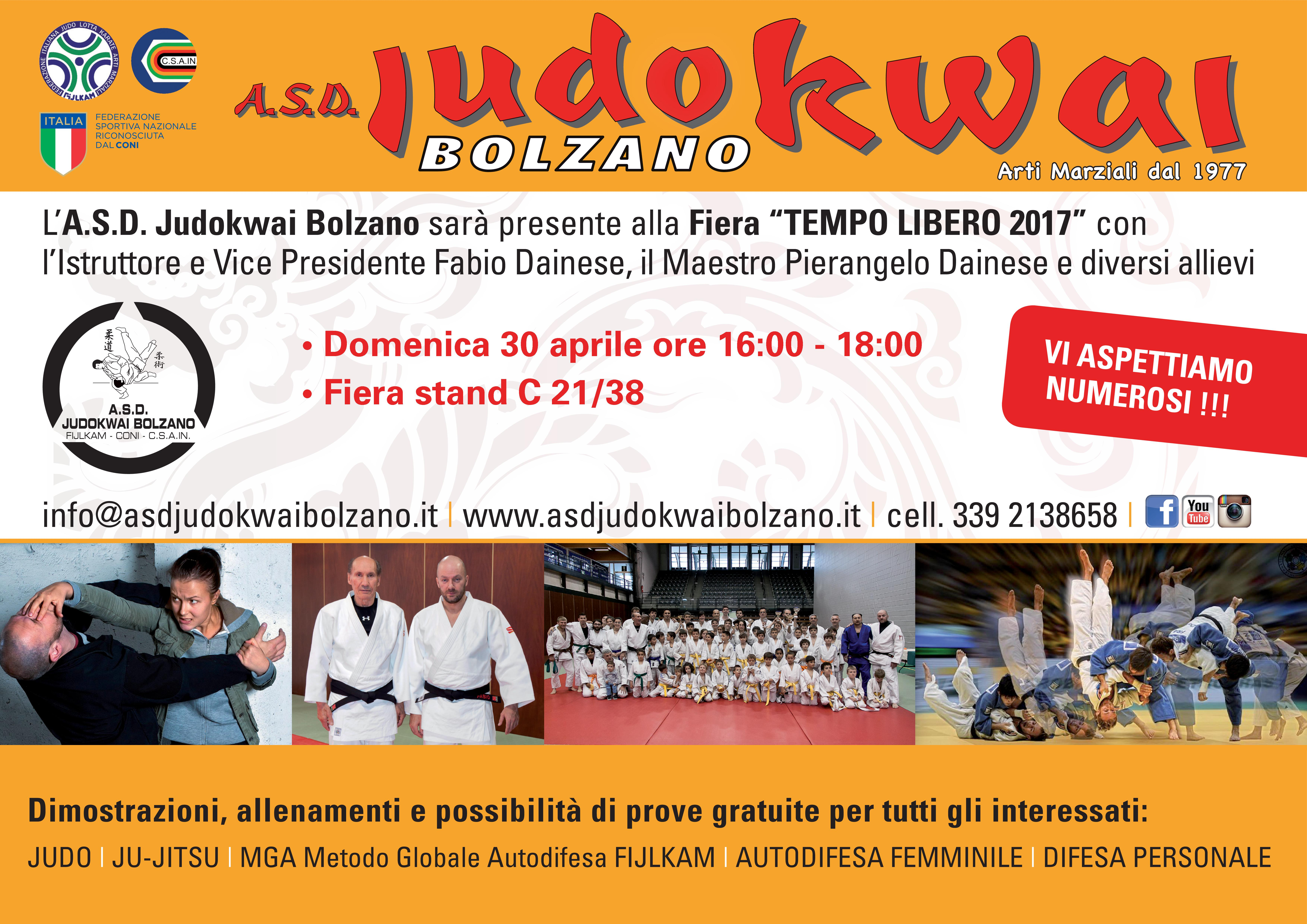 A.S.D. Judokwai Bolzano_Fiera Tempo Libero 2017