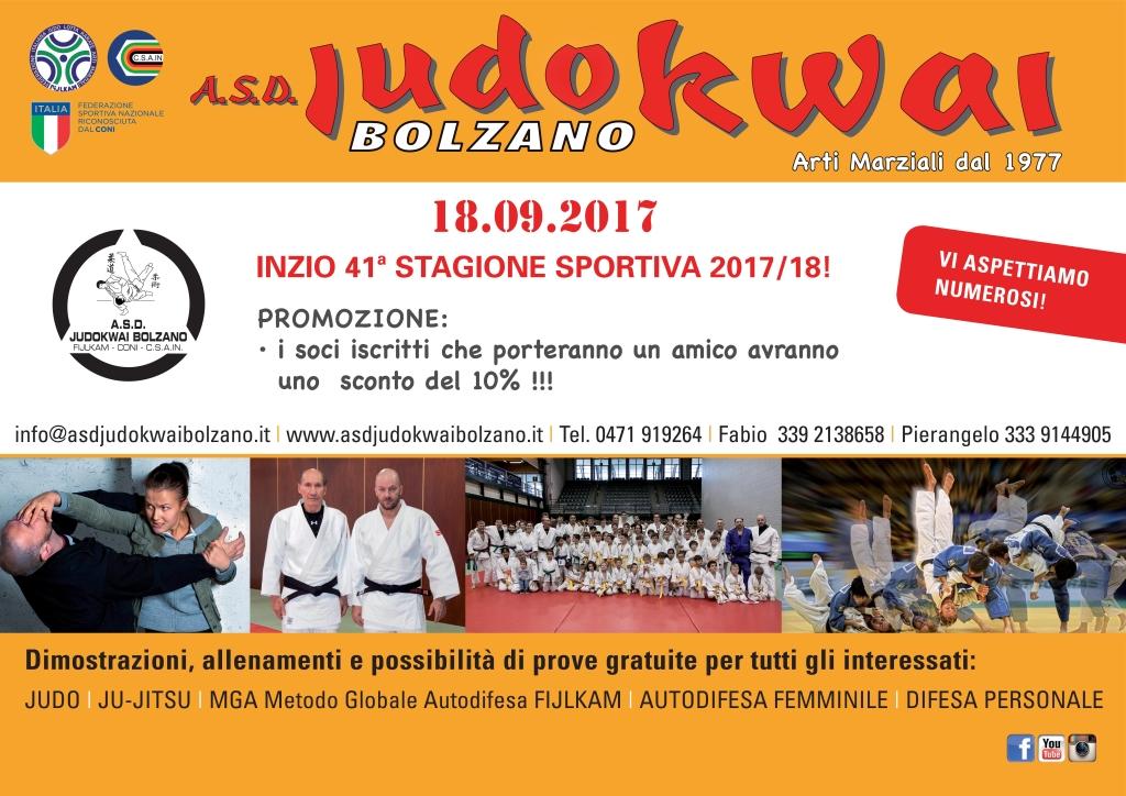 A.S.D. Judokwai Bolzano 2017_2018 I