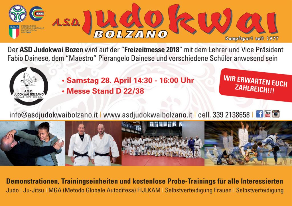 A.S.D. Judokwai Bolzano_Freizeitmesse_ 2018