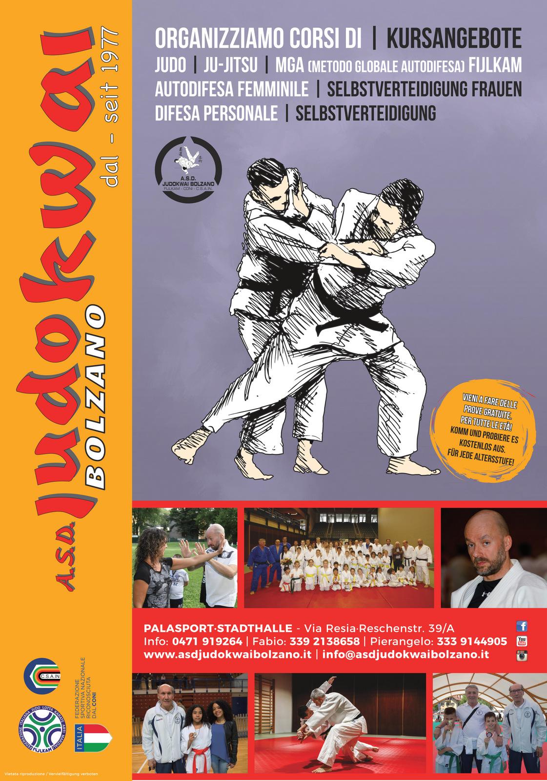 A.S.D. Judokwai Bolzano - New 2018