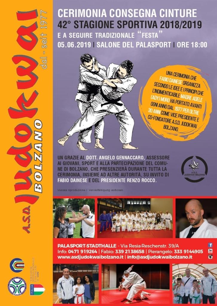 Fine Corso   A.S.D. Judokwai Bolzano   2018_2019