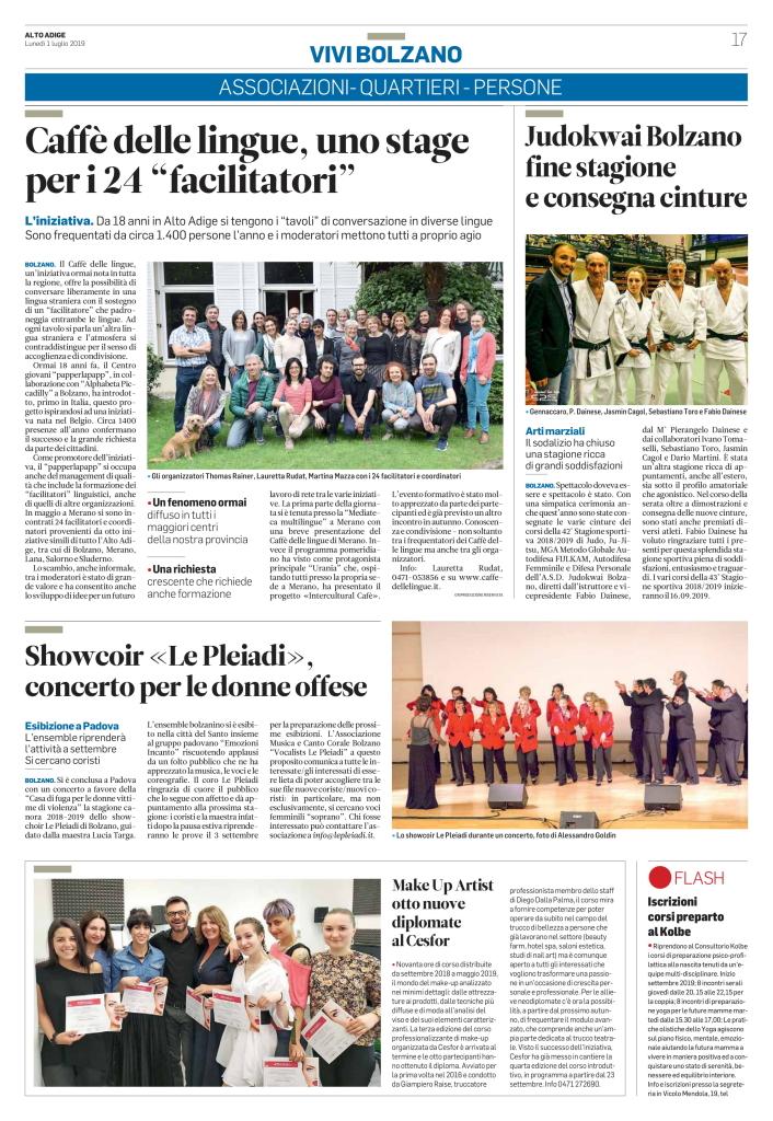 Alto Adige-01.07.2019-17