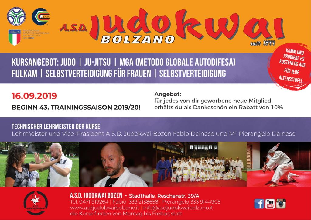 A.S.D. Judokwai Bolzano - 2019 2020 1