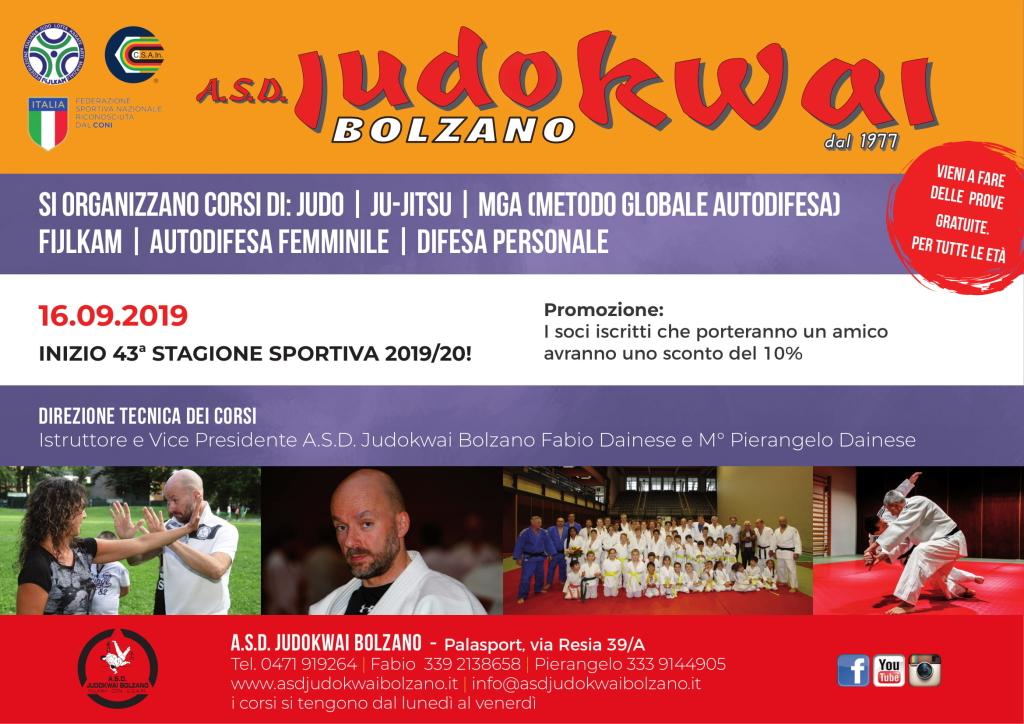 A.S.D. Judokwai Bolzano - 2019 2020