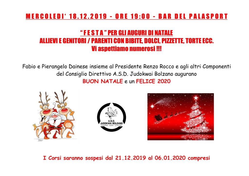 Festa di Natale 2019 2020