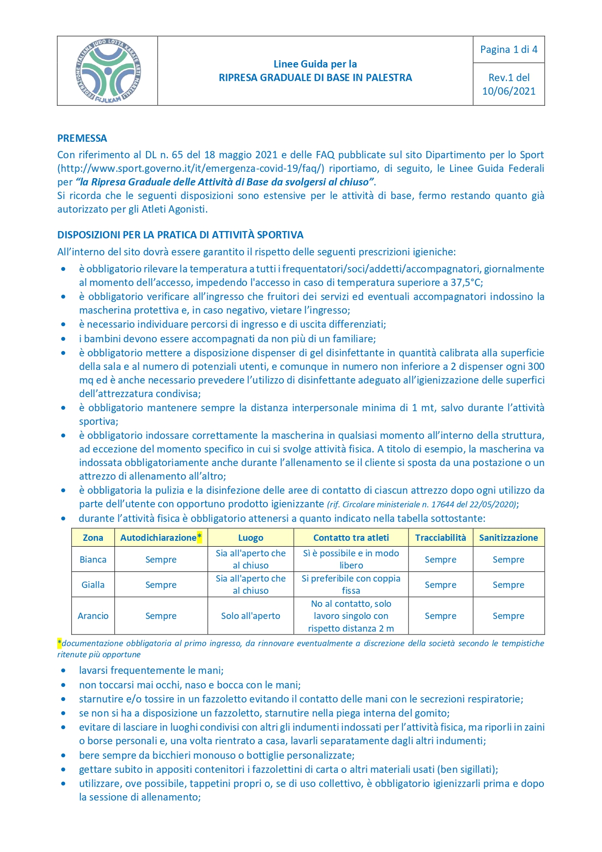 20210610_Linee Guida per la Ripresa Graduale di Base in Palestra_page-0001